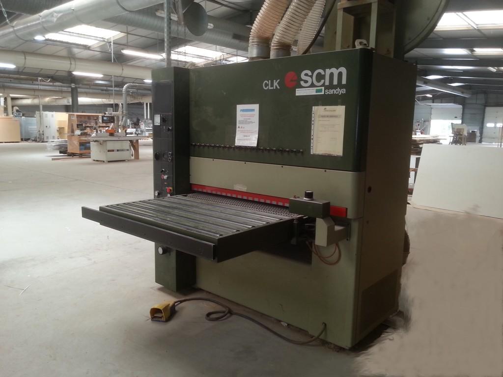 scm cl110 rt wide belt sander exapro