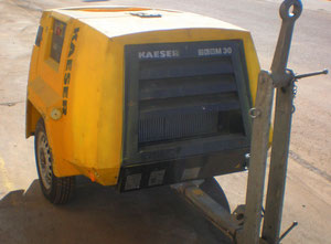Kaeser M-30 Compressor on wheels