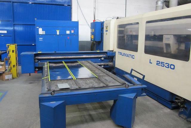 machine de d coupe laser trumpf tc l 2530 1800w machines d 39 occasion exapro. Black Bedroom Furniture Sets. Home Design Ideas
