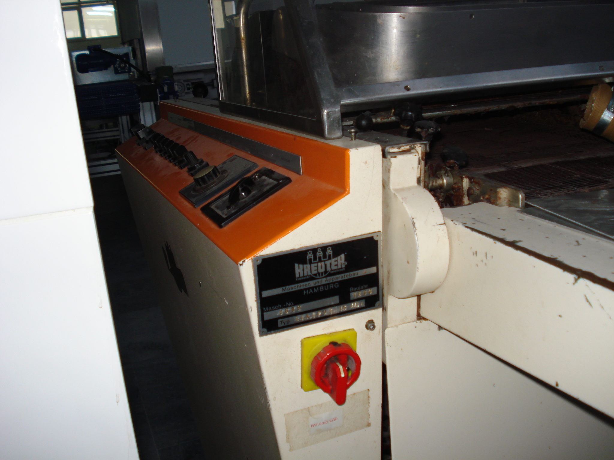 machine de production de chocolat krueter machines d 39 occasion exapro. Black Bedroom Furniture Sets. Home Design Ideas