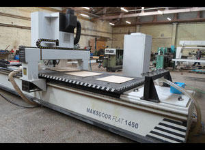 Centrum obróbcze CNC do drewna Makser Team MF 1450