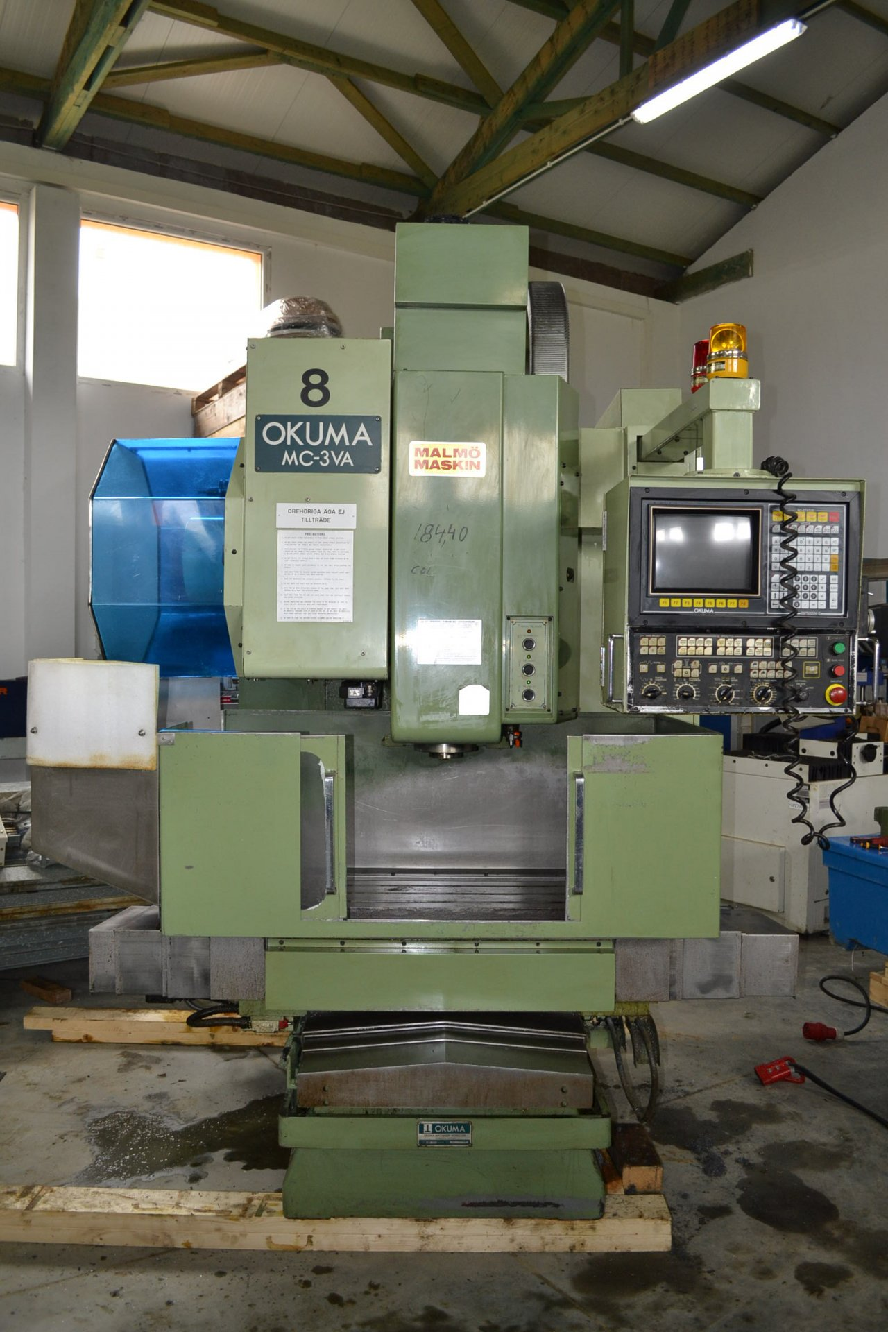 okuma milling machine