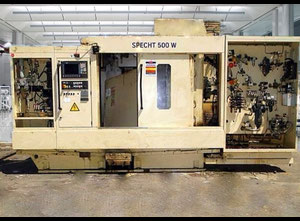 Mag Cross Huller Specht 500W Horizontal milling machine