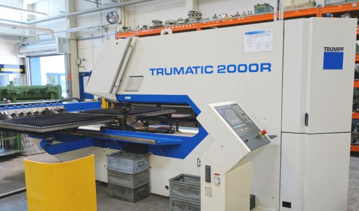 TRUMPF TC 2000 R Punching machine / nibbling machine with CNC - Exapro