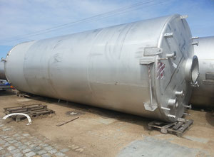 25.500l Stainless steel tank
