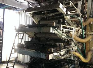 Impresora de etiquetas flexografía Soma Eng. (Чехия) Somaflex-120-6, модель 3543А