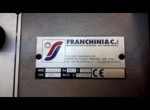 Franchini FINISSAGGIO 330 Label printing machine
