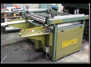 Svecia Matic Screen printing machine