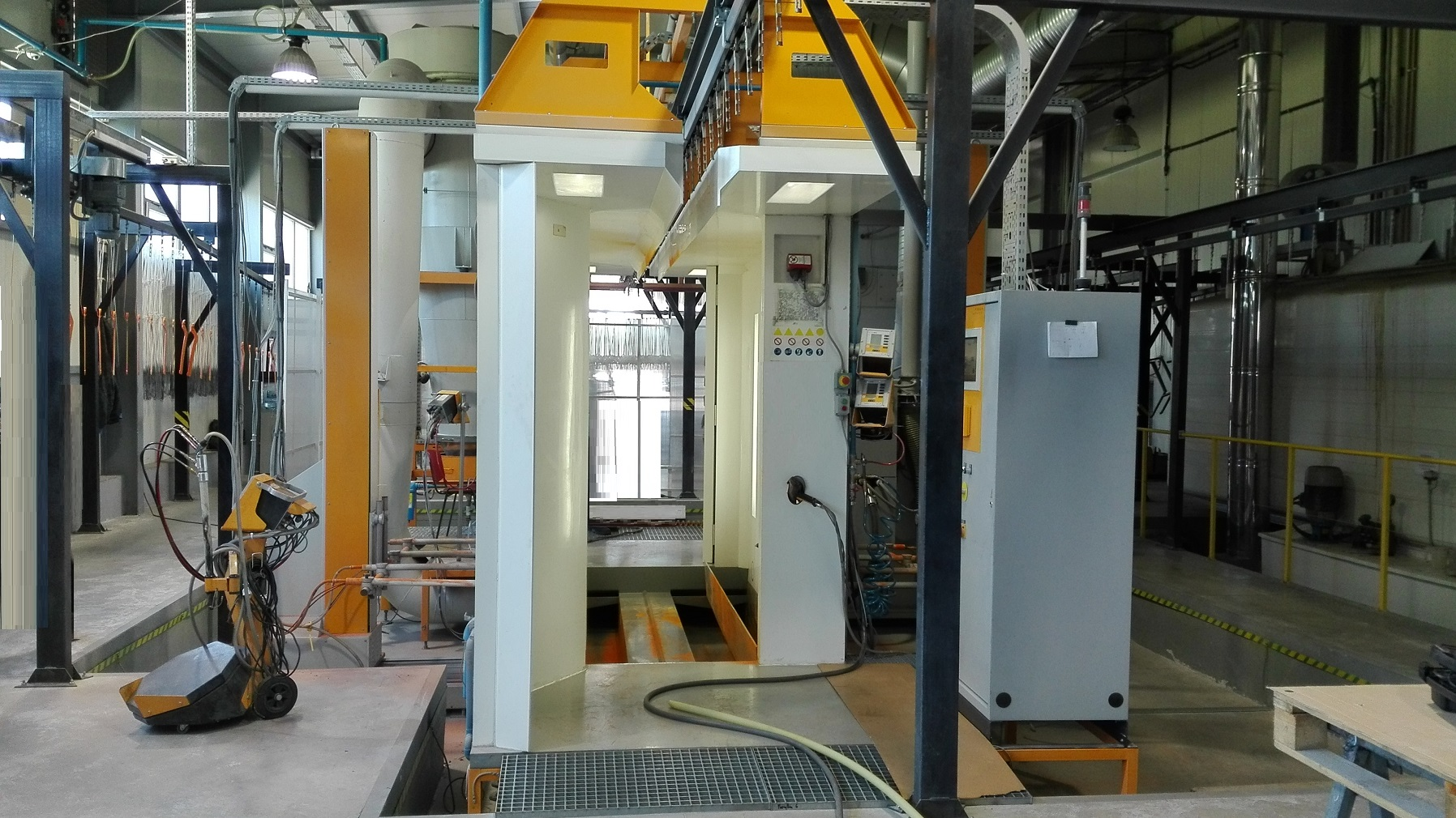 Gema Powder Coating Booth Complete With Quot Powder Kitchen
