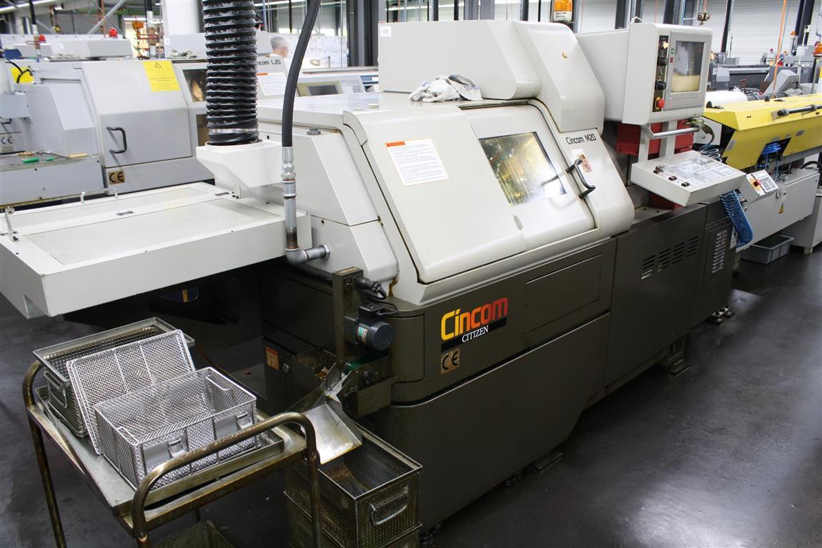 Tour Cnc Citizen M20 Machines D U0026 39 Occasion