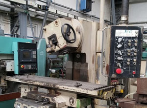 VEB FSS 400 V/2 vertical milling machine