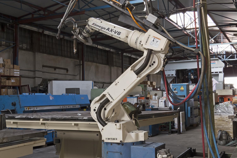 Otc Daihen Almega Ax V6 Industrial Robot Exapro