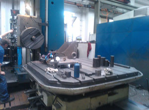 TOS HP 100 Floor type boring machine