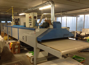 Tek-Ind macchina Alfa plus 8/18 - forno Ghibli Screen printing machine