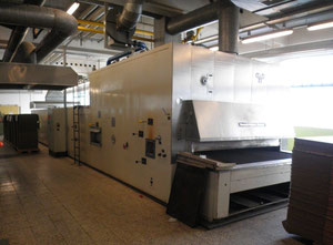 The oven Werner & Pfleiderer 1-on zonal 24 meters, without burner, second-hand.