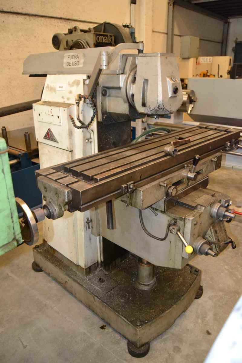 Fexac Um Universal Milling Machine Exapro