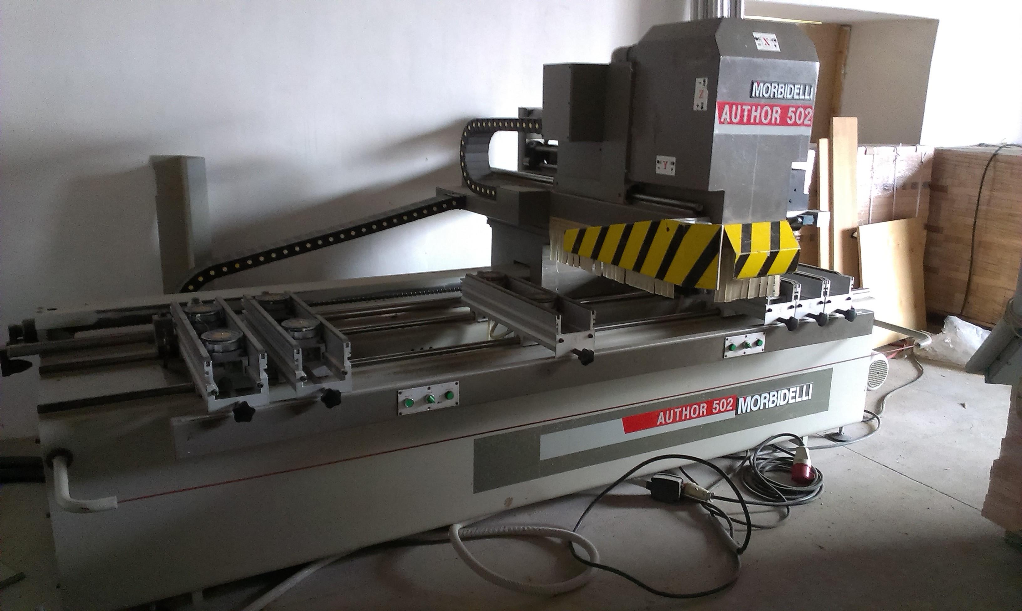 Fresadora de madera morbidelli author 502 maquinas de - Fresadora de madera ...