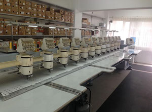 Barudan  One head / multi-heads embroidery machine