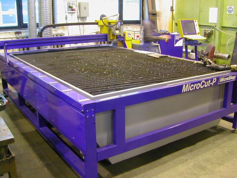 Plasma Cutting Machine MicroStep Microcut PG 3000-2000 CNC - Exapro