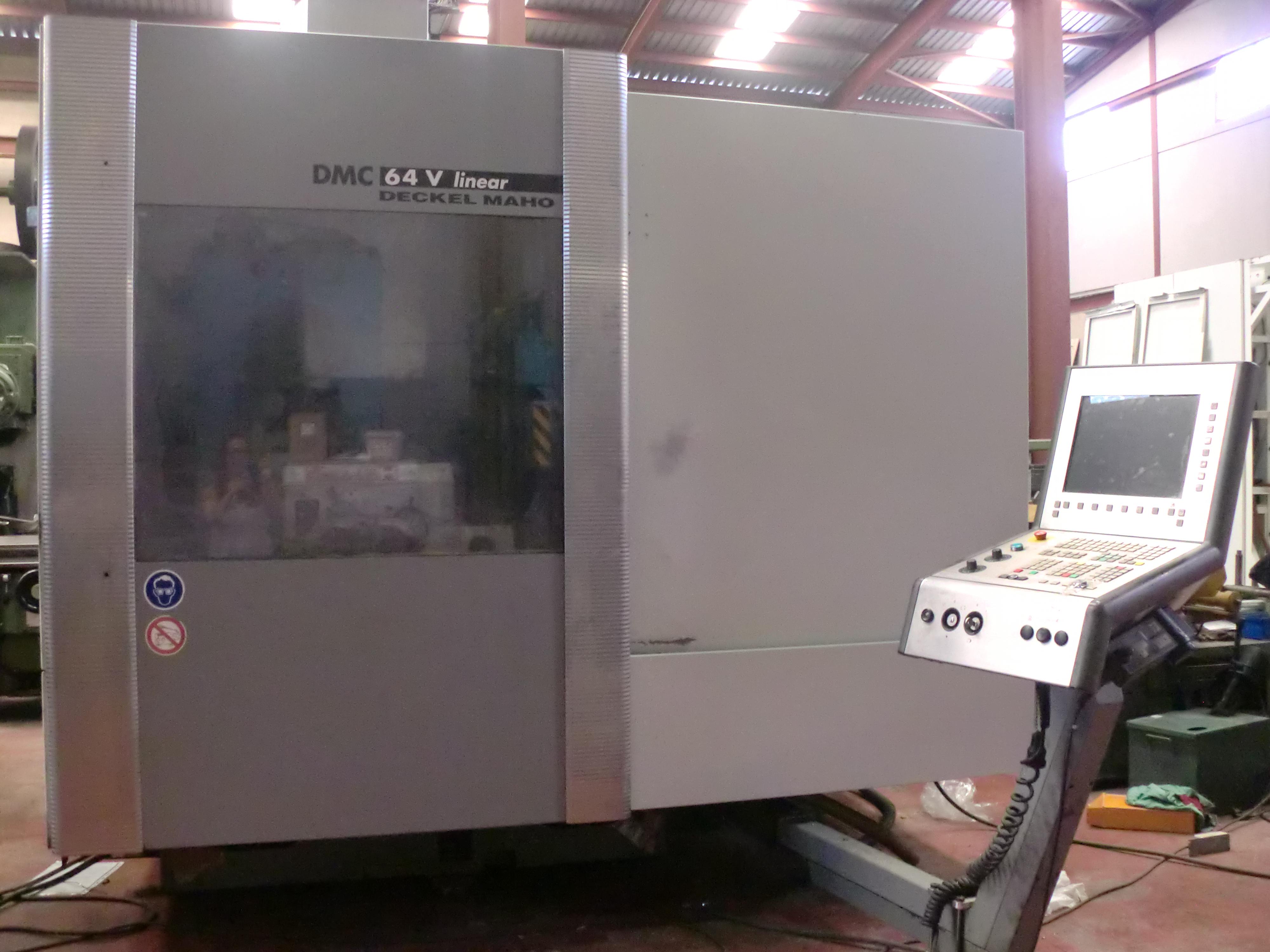 Deckel maho dmc dmg 64v bearbeitungszentrum vertikal for Dmg deckel maho