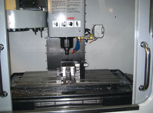 Haas VF 2DHE cnc vertical milling machine