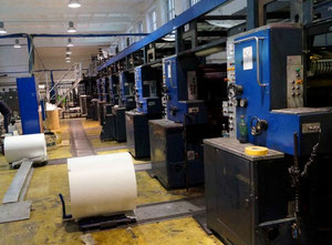 Solna Solna S300 Web continuous printing press