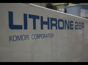 Komori Lithrone 428P Offset four colours