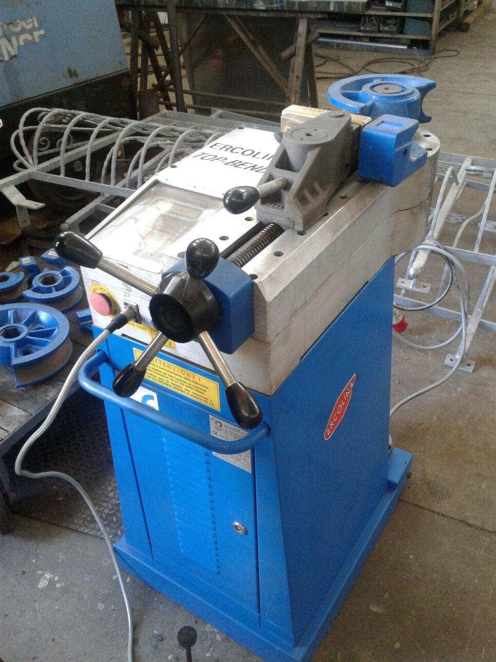 Curvadora de tubo cml spa top bender 050 maquinas de for Curvadora de tubos segunda mano