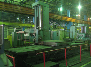 Used TOS VARNSDORF WHN 13A Floor type boring machine