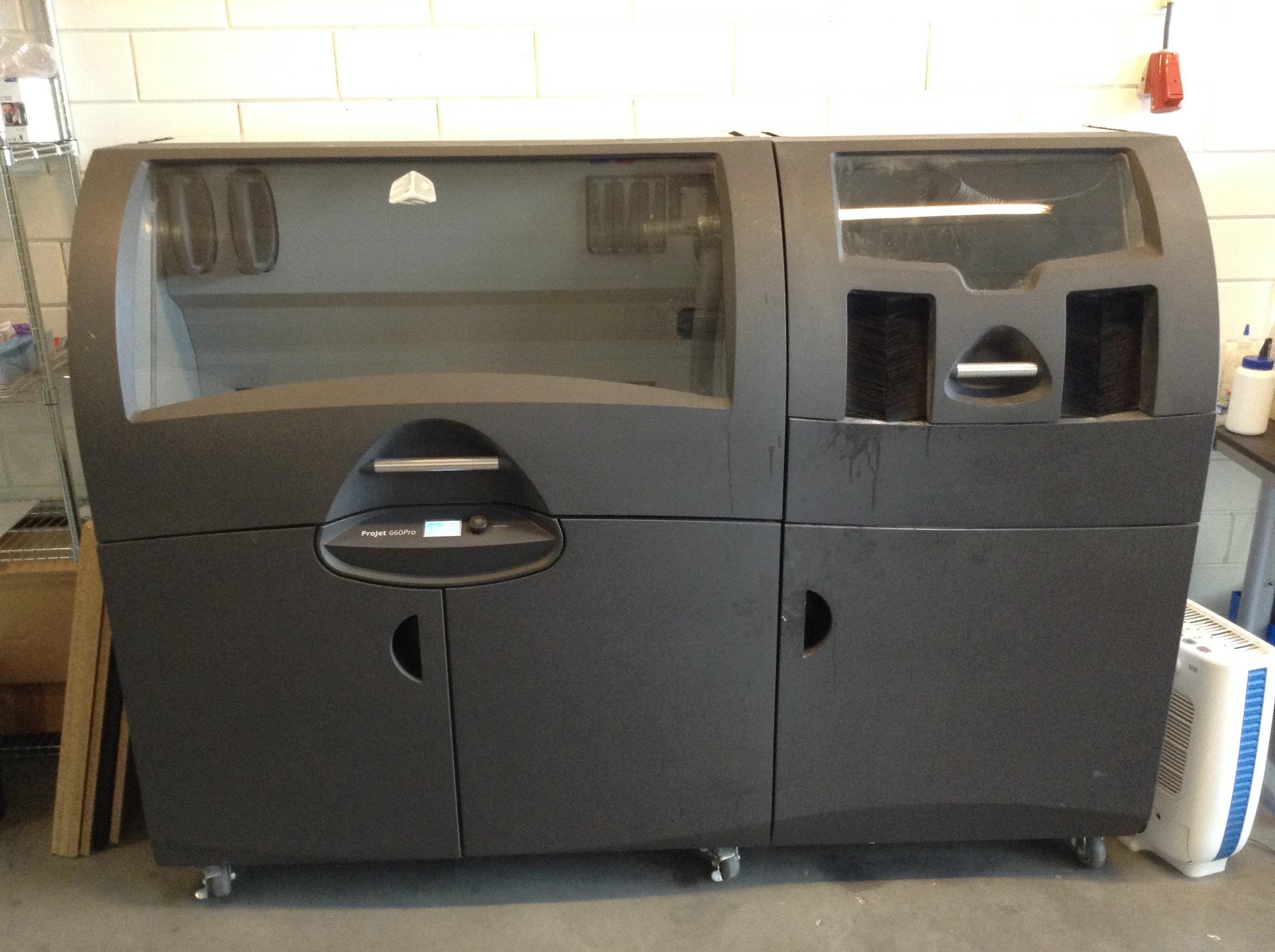 imprimante 3d 3dsystems projet 660 machines d 39 occasion. Black Bedroom Furniture Sets. Home Design Ideas
