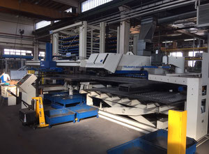 Machine combinée poinçonneuse-laser Trumpf tc 6000