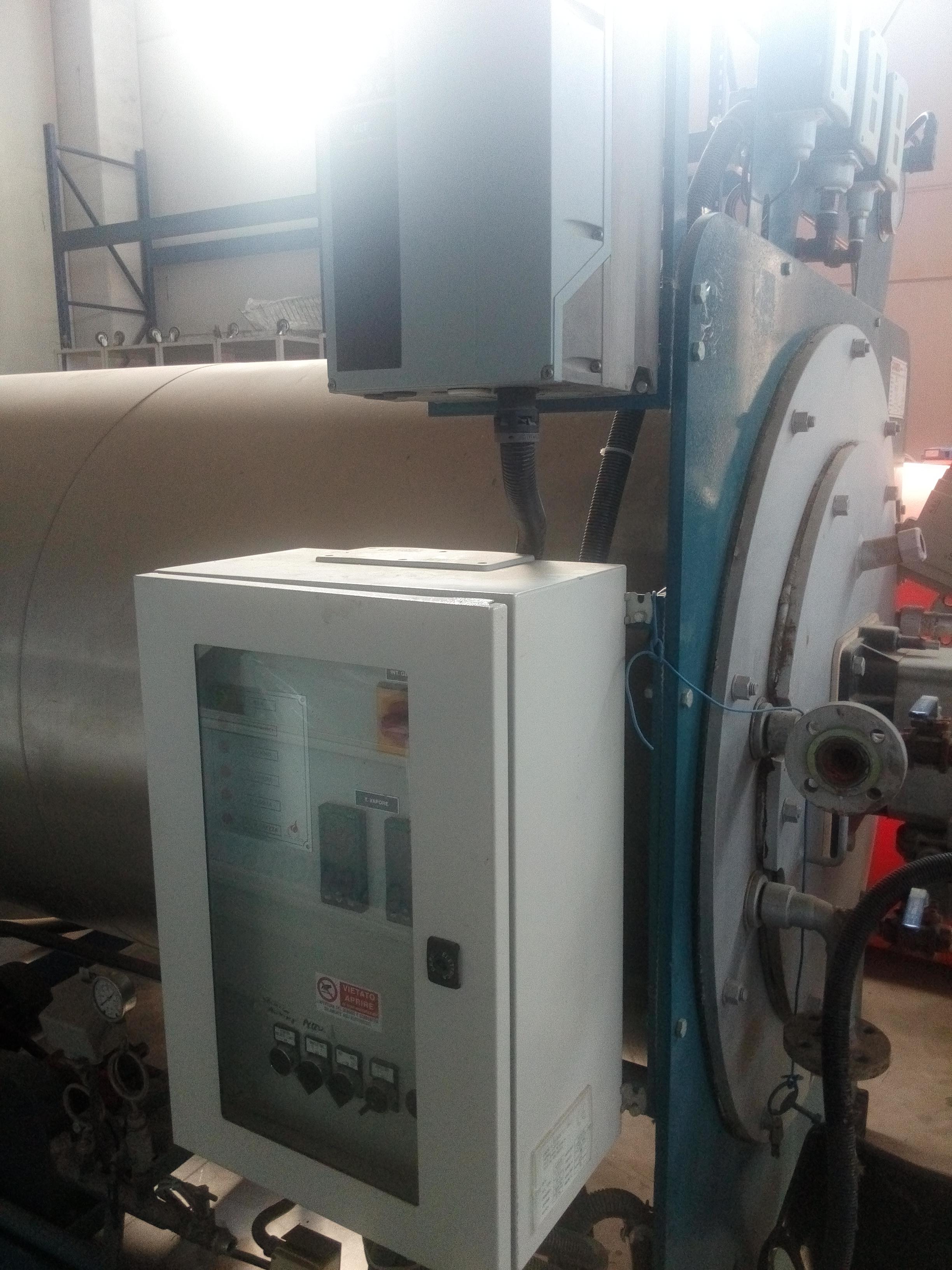 Caldaia usata caldaia usata gavardo caldaie srl omg1500 for Caldaia biomassa usata