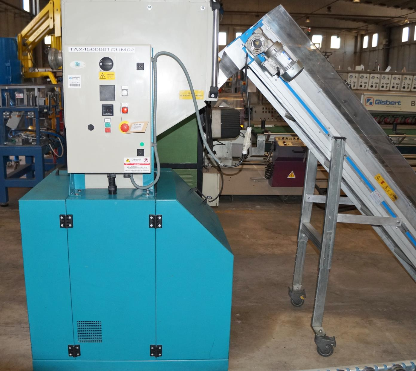 machine de recyclage plastique enginplast roma ba machines d 39 occasion exapro