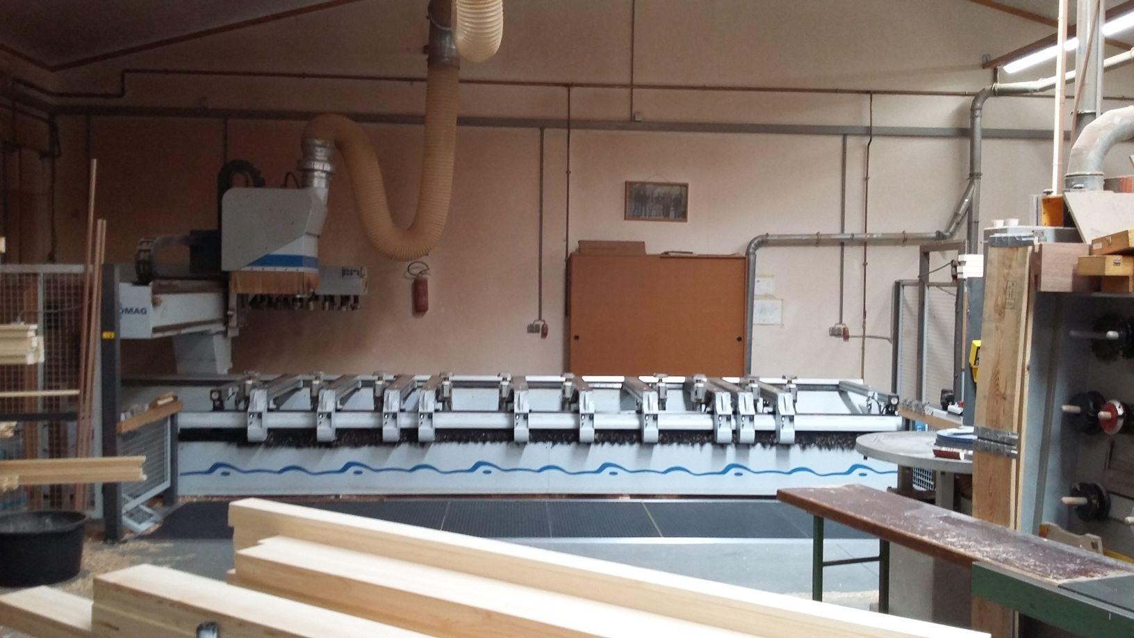 Cnc bearbeitungszentrum f r fenster und t ren homag bof - Fenster und turen nachtraglich sichern ...