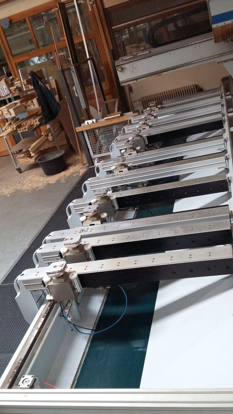 cnc bearbeitungszentrum f r fenster und t ren homag bof 211 52 pm gebrauchte maschinen exapro. Black Bedroom Furniture Sets. Home Design Ideas