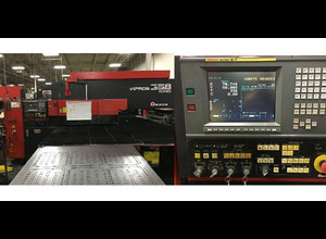 USED AMADA Vipros King II 358 33 Ton CNC Turret Punch 1998