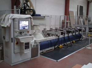 Uniteam Unicawood Wood CNC machining centre