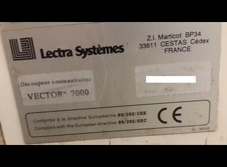 Lectra Vector 7000 P61220040