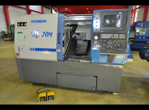 Used Hyundai Hit-20M HiTrol King cnc lathe