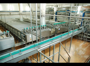 Used Schwarte Ripening cheese line