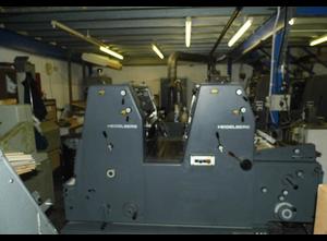 Ofsetový dvoubarevný stroj Heidelberg GTOZP52