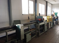 Thyssen HES 45-30D Extrusion line