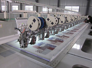Fuwei FW624 Embroidery machine