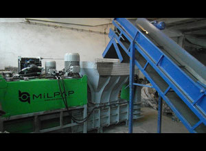 Milpap HCAB 500 Baling press - waste compactor