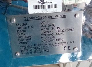 Vanguard VP III  VP 3 VP111 P70101002