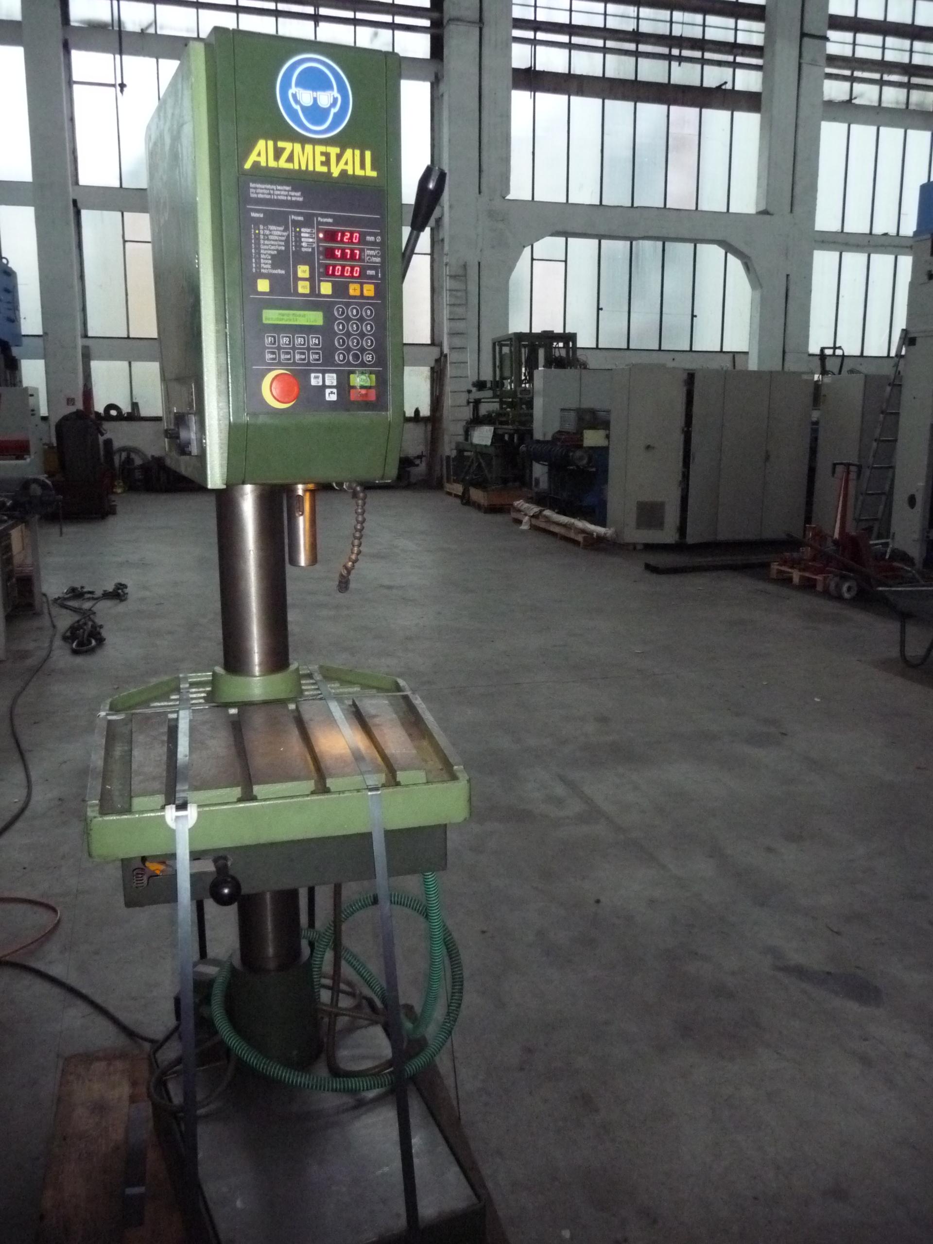Alzmetall ac 25s floor type drilling machine column for Floor pillars