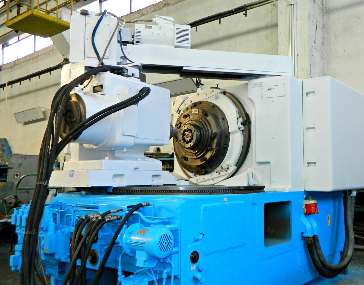 WMW MODUL type ZFTKK/K 250/1 spiral bevel gear machine