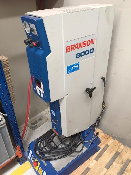 Branson 2000 Iw Welding Machine Exapro