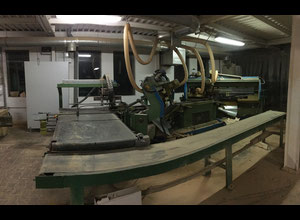 Double milling saw for coffin, casket, sarg, bara, cofani