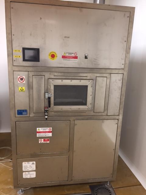 Tunnel de cuisson microglass machines d 39 occasion exapro for Machine de cuisson